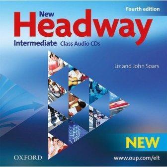 New Headway 4th Ed Intermediate Class Audio CDs (аудио диски)