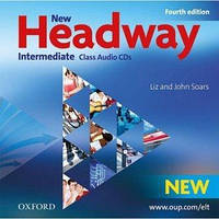 New Headway 4th Ed Intermediate Class Audio CDs (аудио диски)