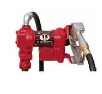 Насос бочковой для перекачки бензина 24В, 55-60 л/мин, насос бочковой бензиновый