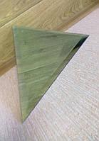 """Плитка зеркальная """"серебро"""" треугольник 600мм фацет 15мм.зеркальная плитка с фацетом.плитка треугольная."""
