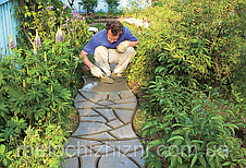 Садовая дорожка 44*44 см пластик (Арт. 6061), фото 3