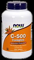 Витамин С-500 комплекс / NOW - C - 500 Complex (250 tabs)