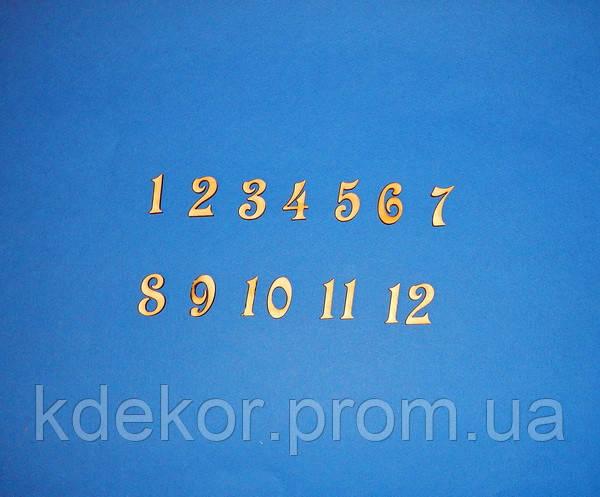 Цифры арабские (набор) №1 заготовка для декора