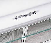Вытяжка кухонная плоская двухмоторная Ventolux Aldo 60 WH 2M белая, фото 2