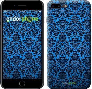 """Чехол на iPhone 7 Plus Синий узор барокко """"2117c-337-2911"""""""