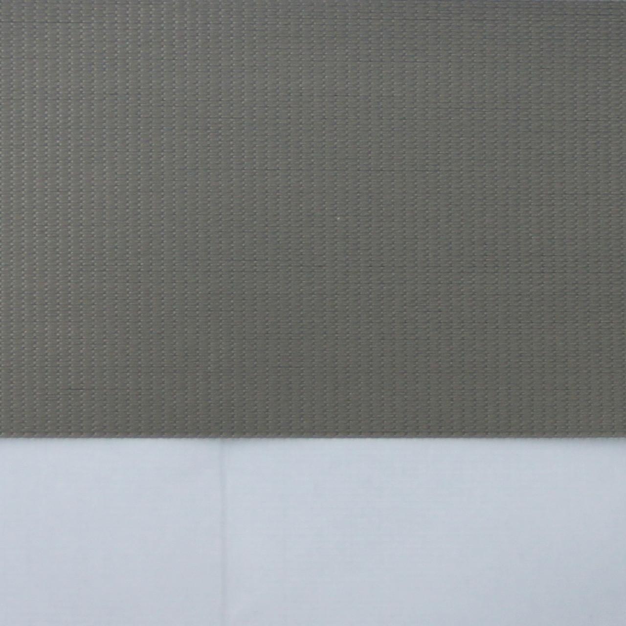 Рулонные шторы День-ночь Ткань Полюс блэкаут Мускат