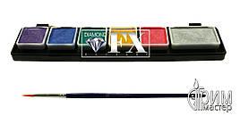 Палитра Diamond FX small металлик