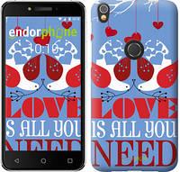 "Чехол на iPhone X Love is all you need ""3462c-1050-2911"""