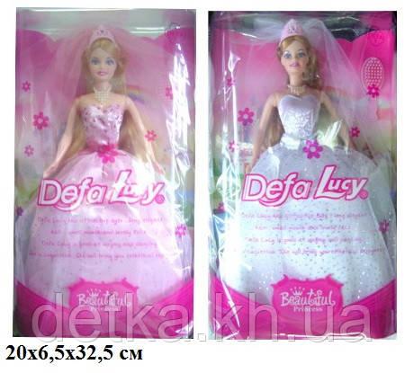 Кукла DEFA 29см 6091 невеста