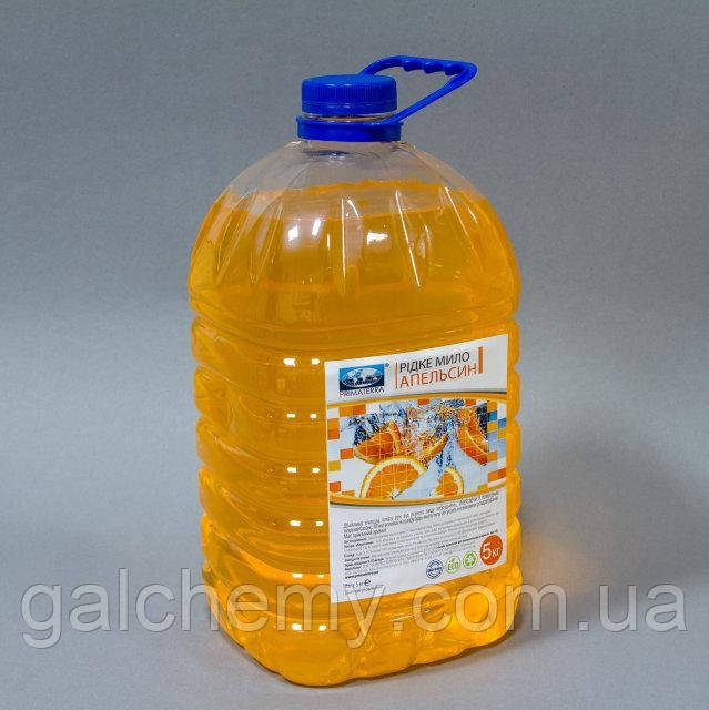 Solo Soft Рідке мило 5л, апельсин (ПЕТ тара)