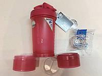 Шейкер BlenderBottle ProStak 22oz 650мл розовый (Чехия)