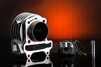 Цилиндр в сборе (поршневая) YABEN-80   см3  d=47mm ТММР  поршень TEFLON