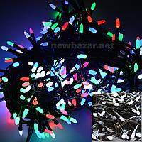 Гирлянда Рис LED 100 мультиколор ( гирлянда на елку цветная)