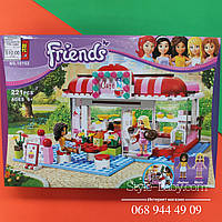 Конструктор lego friends Кафе, фигурки, 221дет, в кор-ке, 37-26-4,5см
