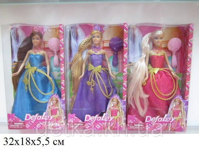 Кукла DEFA 29см 8195 принцесса с аксес