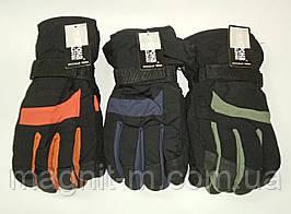 Перчатки Корона мужские. спортивные двойные флисовая подкладка