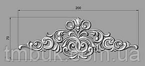 Горизонтальный декор 21 деревянная накладка - 200х70 мм, фото 2