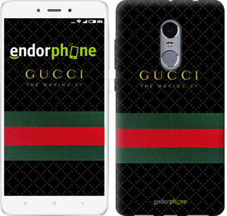 "Чехол на Xiaomi Redmi Note 4 Gucci 1 ""451c-352-2911"""