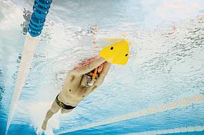 Доска для плавания Finis Alignment Kickboard Yellow 1.05.042, фото 2