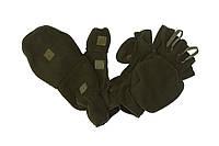 Перчатки-варежки зимние - хаки