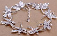Браслет Tiffany (TF2). Покрытие серебром 925