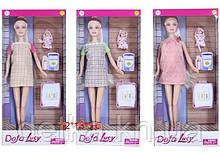 Кукла DEFA 29см 8357 берем с ребенком с аксес