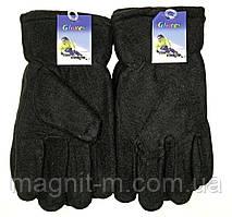 Перчатки Gloves черные. Флисовая подкладка.