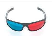 Анаглифные 3D стерео, очки, очки для просмотра 3D фильмов, Аксессуары для телевизоров и проекторов