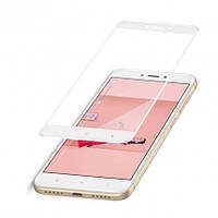 Защитное стекло Full screen Xiaomi Redmi 4X (White), фото 1