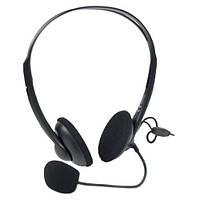Гарнитура (наушники с микрофоном) A4Tech HS-6 Black