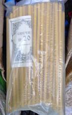 Свечи церковные  в ассортименте( восковые)От 10 см до 50 см (Арт. С2033), фото 3