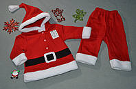 "Костюм ""Санта"" с капюшоном (6-9, 9-12, 18-24 мес.)"
