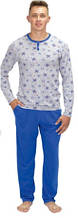 Пижама мужская зимняя из хлопка Wiktoria 340