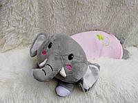 Плед детский в виде подушки-игрушки