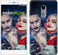 "Чехол на Xiaomi Redmi Note 4 Джокер и Харли Квинн ""3802c-352-2911"""