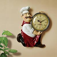 Часы настенные Поварёнок на кухню