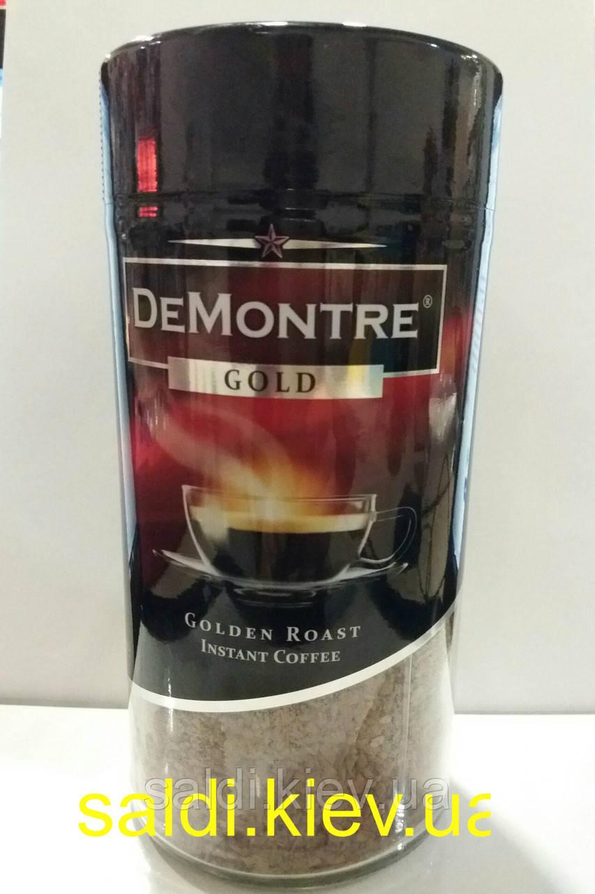 Кофе растворимый DeMontre Gold 200гр.