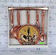 Часы настенные Поварешки на кухню