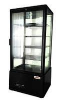 Шкаф-витрина холодильная FROSTY RT98L-1D  black (черный)