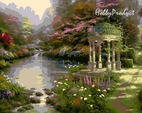 VP148 Набор-раскраска по номерам Сад молитвы худ. Кинкейд Томас , фото 2