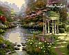 VP148 Набор-раскраска по номерам Сад молитвы худ. Кинкейд Томас