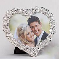Свадебная фоторамка в виде сердца