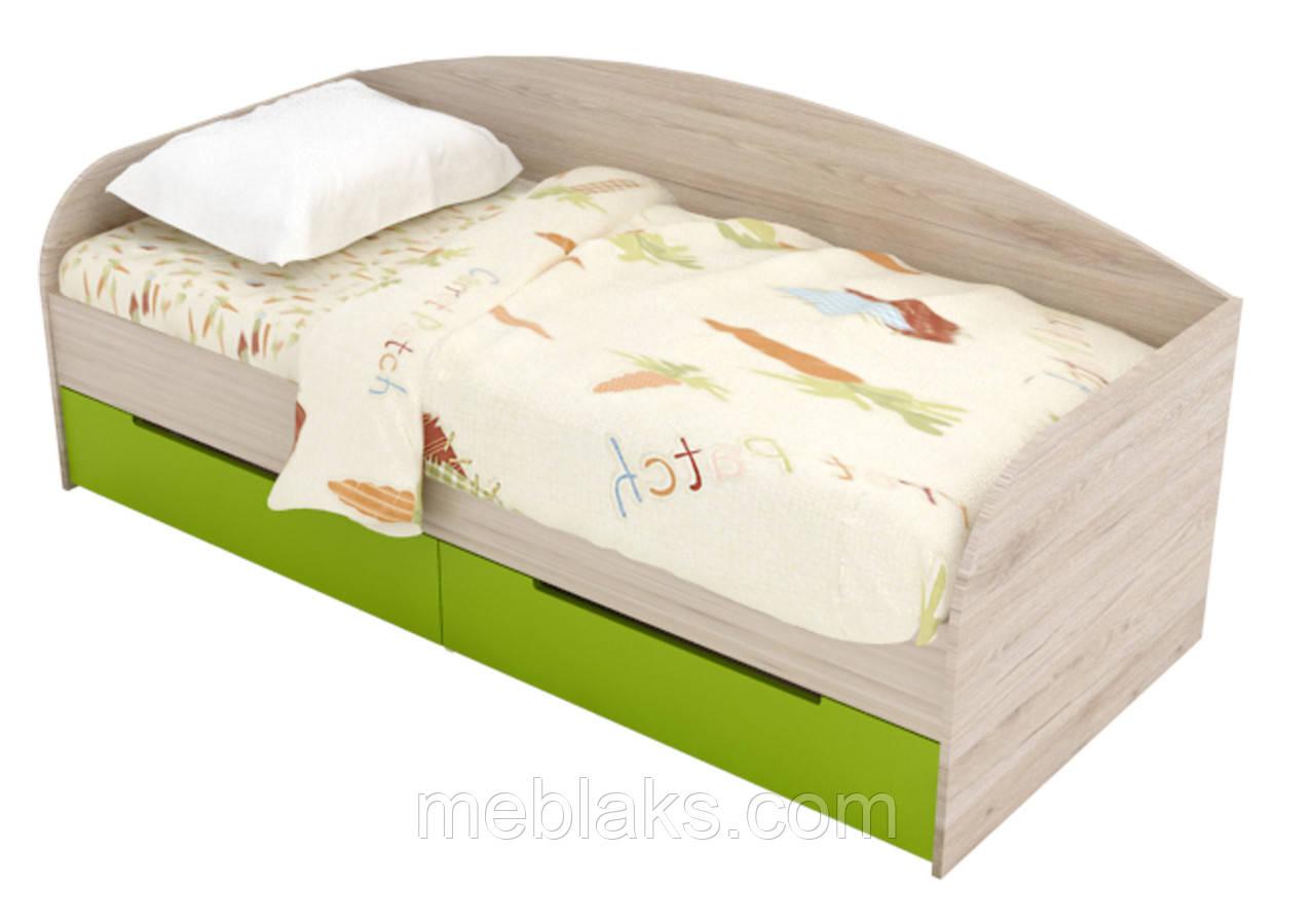 """Кровать односпальная детская """" Л-5 """" 2000х900"""