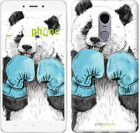 """Чехол на Xiaomi Redmi Note 4 Панда-боксер """"4104c-352-2911"""""""