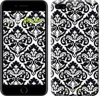 "Чехол на iPhone 7 Plus Черно-белый узор барокко ""1704c-337-2911"""