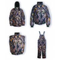 Зимний костюм для рыбалки и охоты ANT GRIZZLY 4 в 1 (до - 40)