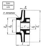 Рабочее колесо насоса К65-50-160 запчасти насоса К65-50-160, фото 9