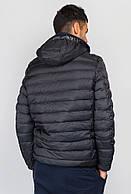 Куртка мужская короткая 732K001 (Антрацит)