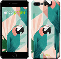 """Чехол на iPhone 7 Plus Geometric birds """"4019c-337-2911"""""""