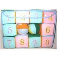 Кубики мягкие в сумочке